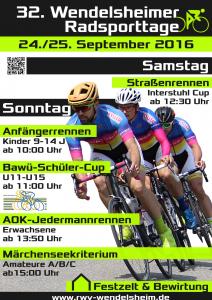 Poster Wendelsheimer Radsporttage